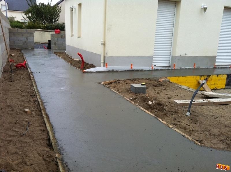 Construction neuve am nagement ext rieur neuf terrasse for Construction piscine 44